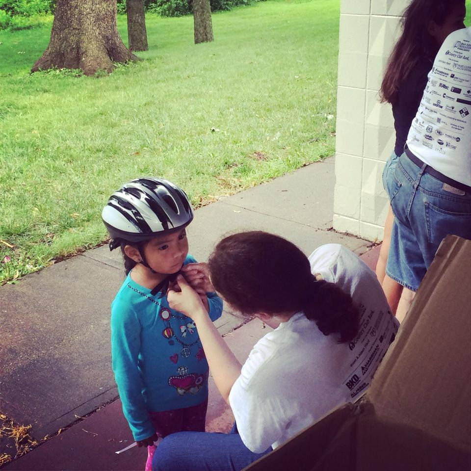 Overland Park Bike Rodeo is a Big Success!
