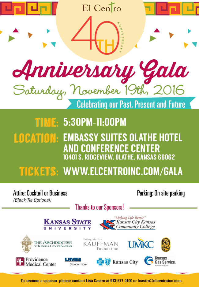 Join Us For Our 40th Anniversary Celebration!