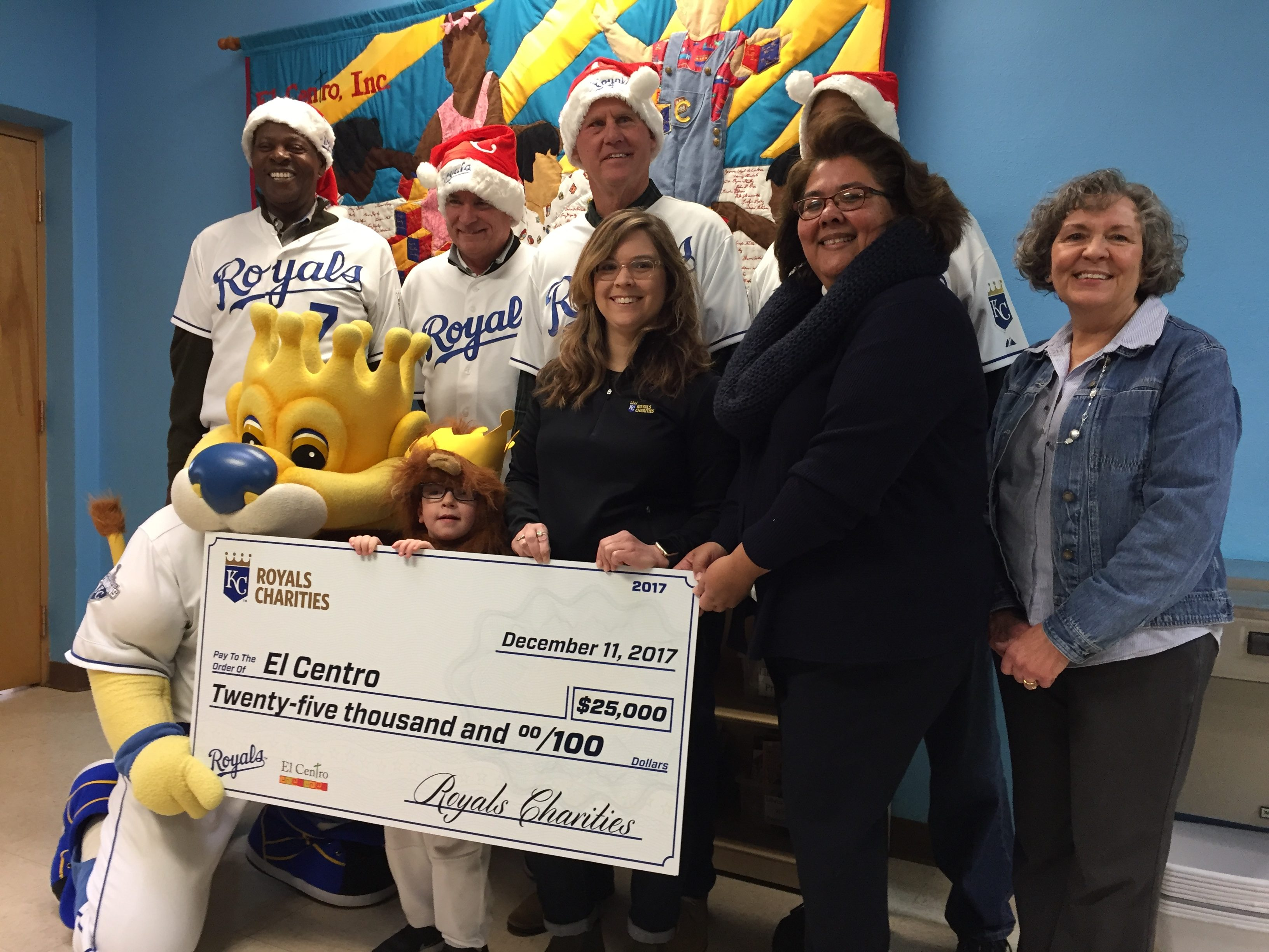 Royals Charities donated $25,000 to the Academy for Children